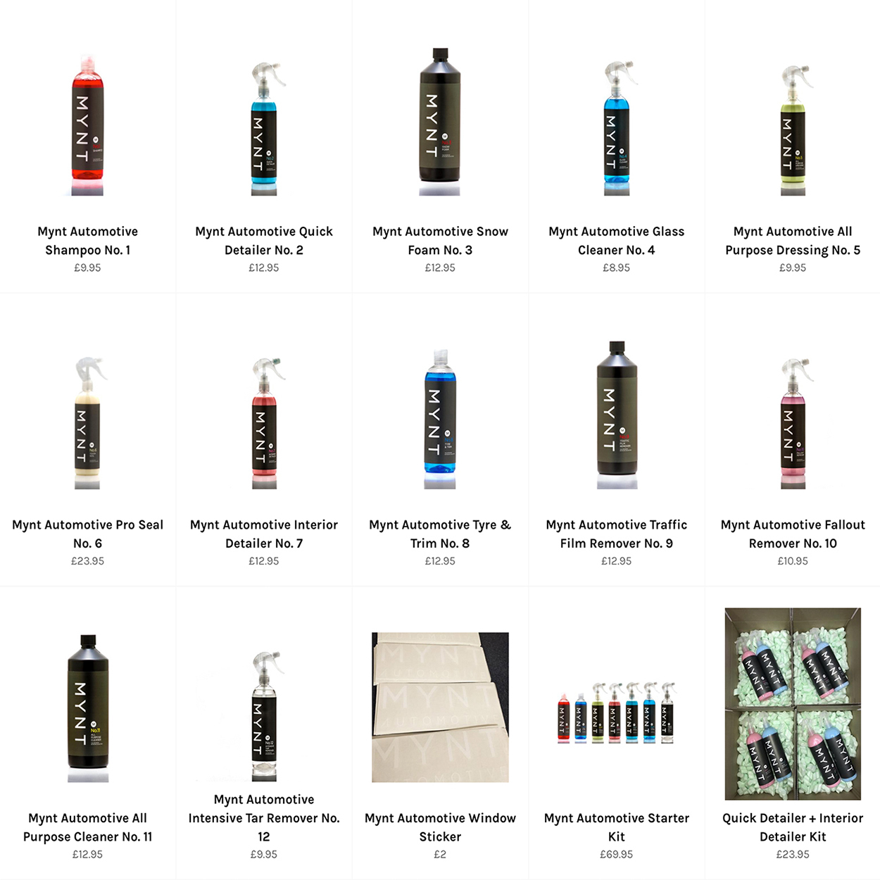 75f3b38e4a4 Detailing Products
